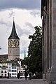 St. Peter Zürich - Grossmünsterplatz 2010-08-27 17-47-10 ShiftN.jpg