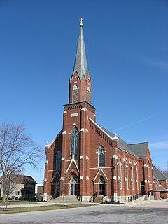 St. Sebastians Catholic Church (Sebastian, Ohio) United States historic place