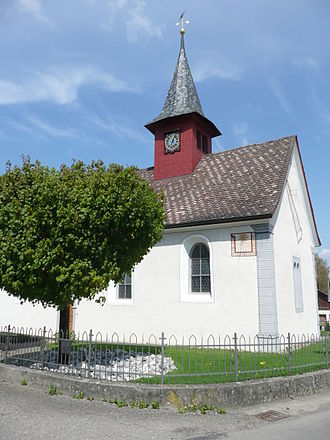Uesslingen-Buch - Image: St. Sebastianskapelle