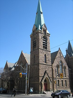 How to get to Grace Toronto Church with public transit - About the place