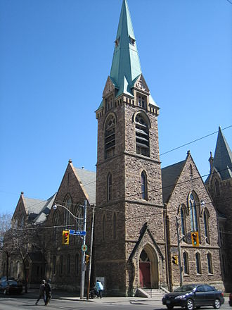 St. Andrew's United Church - Image: St Andrew's Evangelical Lutheran Church, Toronto