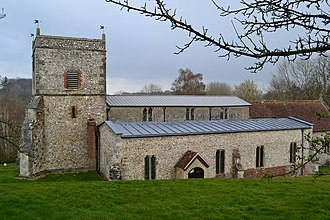 Nether Wallop - St Andrews Church, Nether Wallop, Hampshire
