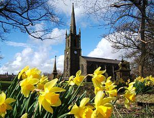 Chapeltown, Lancashire - Image: St Annes Turton 1