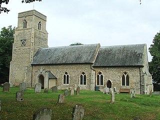 Barnham, Suffolk Human settlement in England