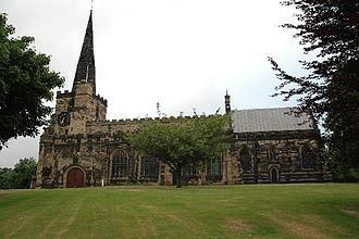 Richard Sherlock (priest) - St Oswald's Church