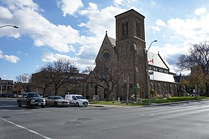 Joseph Connolly (architect) - Image: St Patrick Catholic Church, Hamilton Exterior