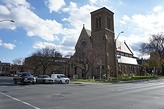 Joseph Connolly (architect) - Image: St Patrick Catholic Church, Hamilton Exterior