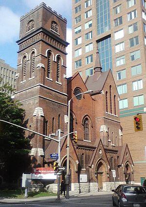 St. Peter & St. Paul's Anglican Church (Ottawa) - St. Peter and St. Paul's Anglican Church (formerly St. George's Anglican Church), Metcalfe St.