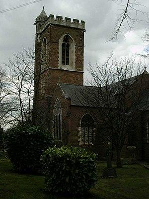 St Saviour's Church, Saltley - Image: St Saviours church Saltley geograph.org.uk 149873