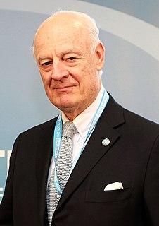 Staffan de Mistura Italian-Swedish diplomat