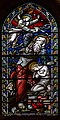 Stained glass window, Christ church, St Leonards, East Sussex (16238080751).jpg
