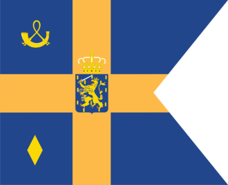 Flags of the Dutch royal family - Image: Standard of Princess Laurentien of the Netherlands