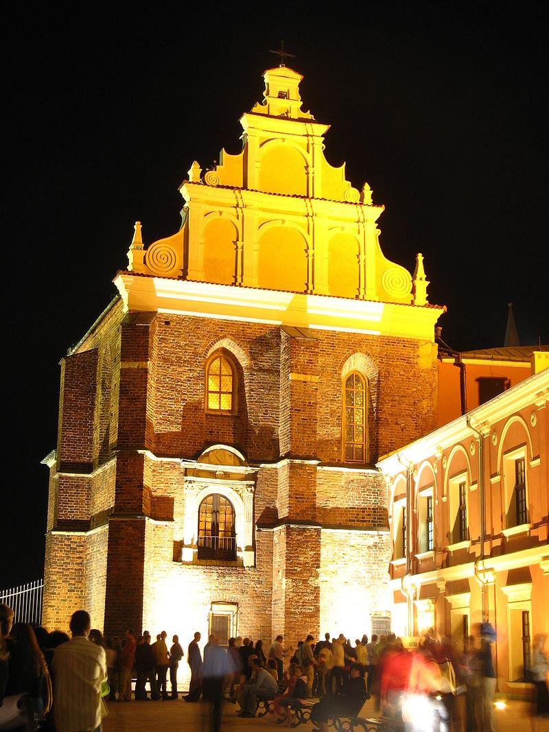 Kaplica Trójcy świętej podczas Nocy Kultury 2008