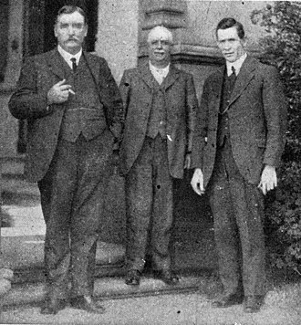 William Demaine - William Halliwell Demaine (centre) at the Governor General's Conference, 1918
