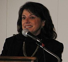 State Sen. Leah Vukmir speaks at the Racine Tea Party event on Jan. 13, 2013. (8379730772).jpg