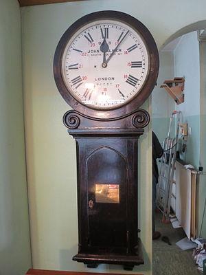 Dartford railway station - Station clock of Dartford's 19th century station building (1895)