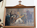 Station of the Cross in Saint Francis church in Warsaw - 03.jpg