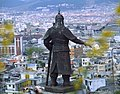 Statue of Admiral Yi Sun-sin in Mokpo, South Korea - 2011.jpg