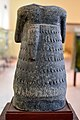Statue of Entemena, ruler of Lagash, from Ur, c. 2400 BCE. Iraq Museum. Back view.jpg
