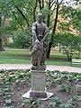Statue of Herakles in Łazienki Park, Warsaw, Poland 1.jpg