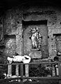 Statue of the Bibliothic, Forum Romanum, Rome, Italy Wellcome M0000103.jpg