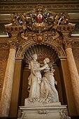 Estatua en el Palais des ducs de Savoie, Niza