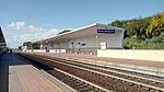 Stazione di Elmas Aeroporto binario 1 aprile 2019.jpg