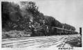Steam locomotive with passenger train at Matamata ATLIB 338820.png
