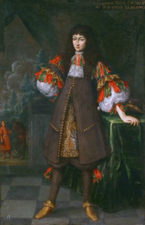 Aleksander Janusz Zasławski - Image: Stech Aleksander Zasławski Ostrogski