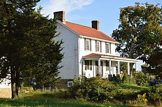 Cumberland Township, Greene County, Pennsylvania - Farmhouse on Stevenson Lane