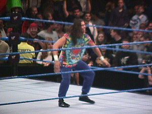 Stevie Richards - Richards dressed as Dude Love at Smackdown 1999