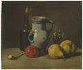 Still Life with a grey Jug (Jules Dupré) - Nationalmuseum - 23718.tif