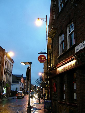 Stoke Newington Church Street - Stoke Newington Church Street, looking west. (March 2006)