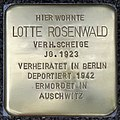 Stolperstein HB-HamburgerStr 10 - Lotte Rosenwald - 1923.jpg