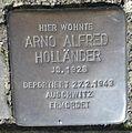 Stolperstein Hilchenbach Mühlenweg 25 Arno Alfred Holländer.jpg