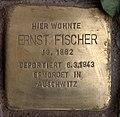 Stolperstein Westfälische Str 70 (Halsee) Ernst Fischer.jpg