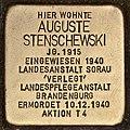 Stolperstein für Auguste Stenschewski (Cottbus).jpg