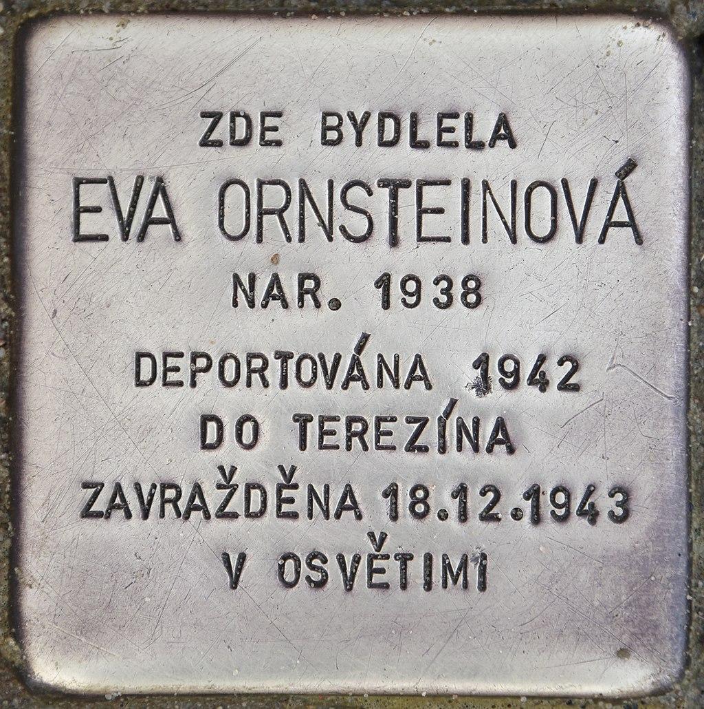 Stolperstein für Eva Ornsteinova.jpg