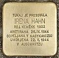 Stolperstein für Irene Hahn (Murska Sobota).jpg