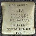 Stolpersteine Köln, Netta Strauss (Aachener Straße 28).jpg