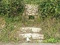 Stone stile near Marcross - geograph.org.uk - 925602.jpg