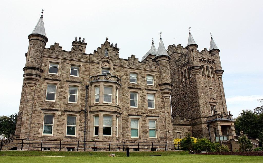 Close up of Stormont Castle