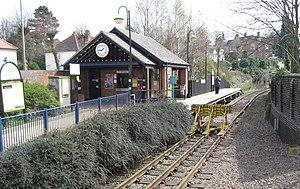 Stourbridge Town railway station - Stourbridge Town railway station.