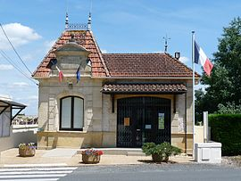 The town hall in Saint-Philippe-du-Seignal