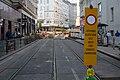 Straßenbahn Wien Gleisbett-Erneuerung Lerchenfelder Straße Kaiserstraße 2020-07-17 07.jpg