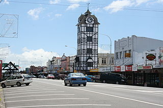 Stratford, New Zealand Minor urban area in Taranaki, New Zealand