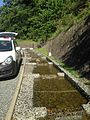 Stream near Dazaifu Temman Shrine 20140503.jpg