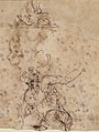 Studies for a Figure Lifted from a Grave or Pit by Cords. V e r s o- Further Study of the Same Figure MET 69.20 VERSO.jpg