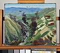 Study for 'the Destruction of the Turkish Transport - in the gorge of the Wadi Fara, Palestine', 1920 ( Iwm Art 3138) Art.IWMART4584.jpg