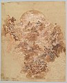 Study for a Ceiling Decoration- Coronation of the Virgin (recto); Female Head (verso) MET DP820295.jpg